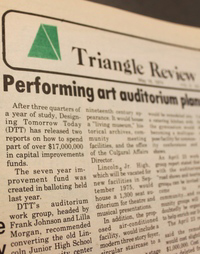 Triangle Review Newspaper Index